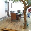 Outdoor Terrace DIY