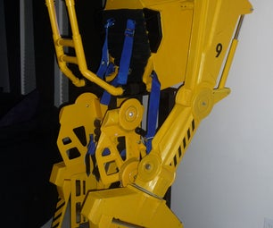 Aliens Powerloader Halloween Costume