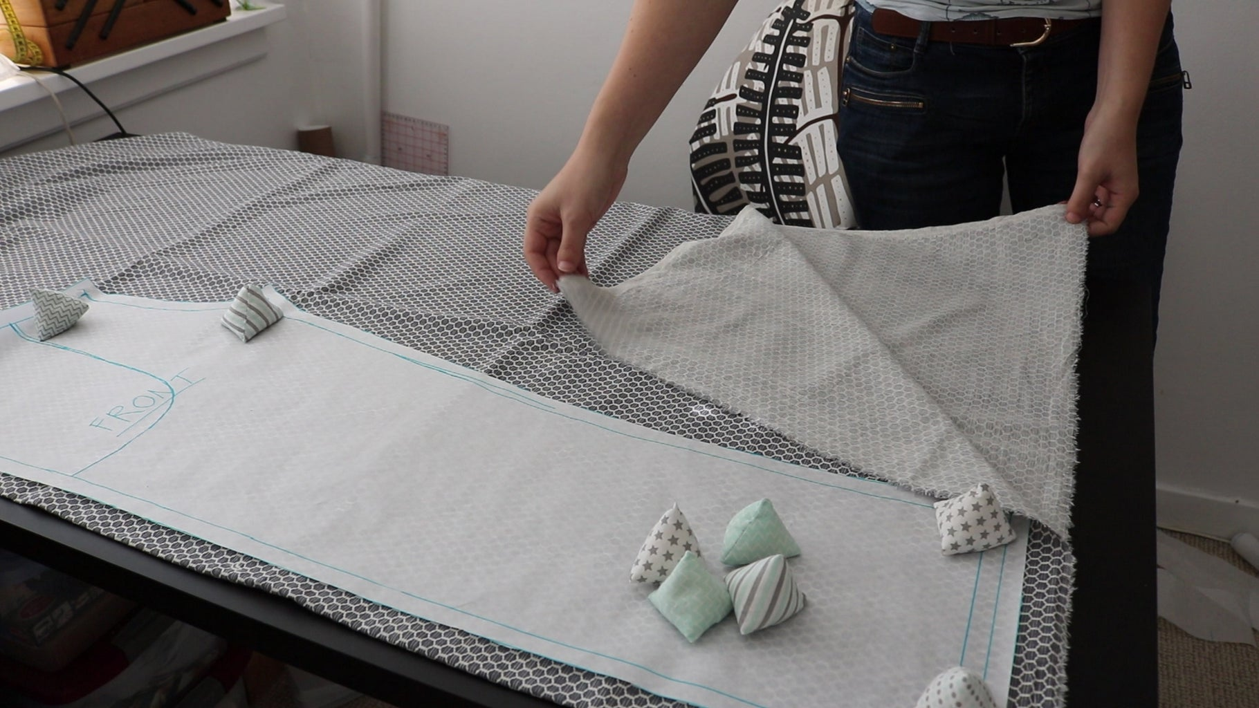 Make the Pattern & Cut Fabric