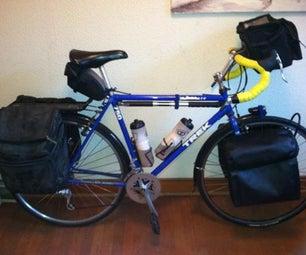 DIY Bike Panniers - Homemade Bicycle Panniers