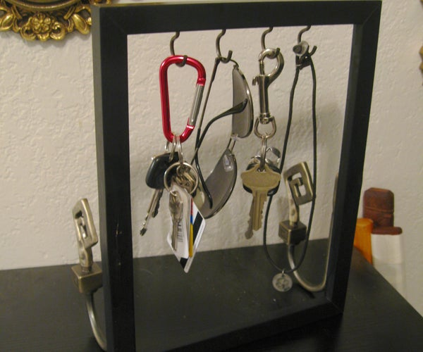 Picture Frame Accessory Holder
