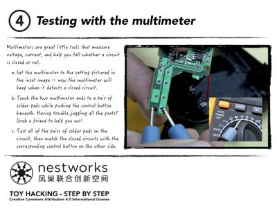 Testing With the Multimeter