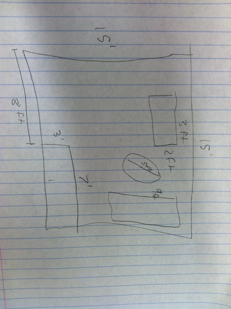Measure and Draw in Furniture