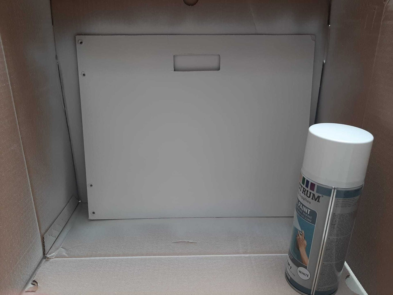 Front Panel and Shelf