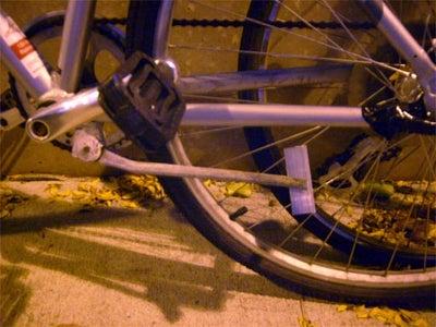 Blob Brazing - Bicycle Kick Stand