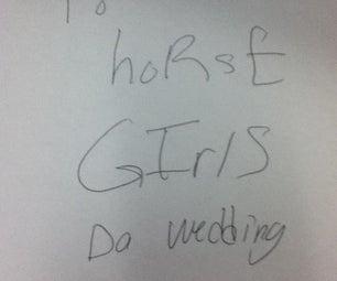 Potato Horse Girls Da Wedding