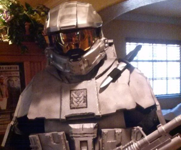 How to make a Halo Suit Step by step....