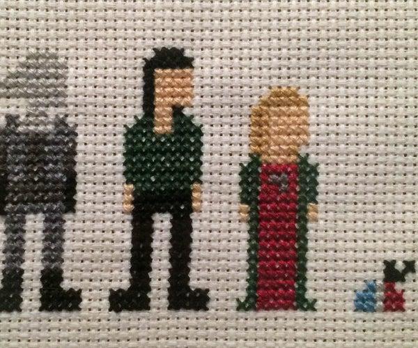 Farscape Cross Stitch: Season Four Characters (Women)