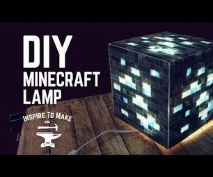 DIY Minecraft Lamp