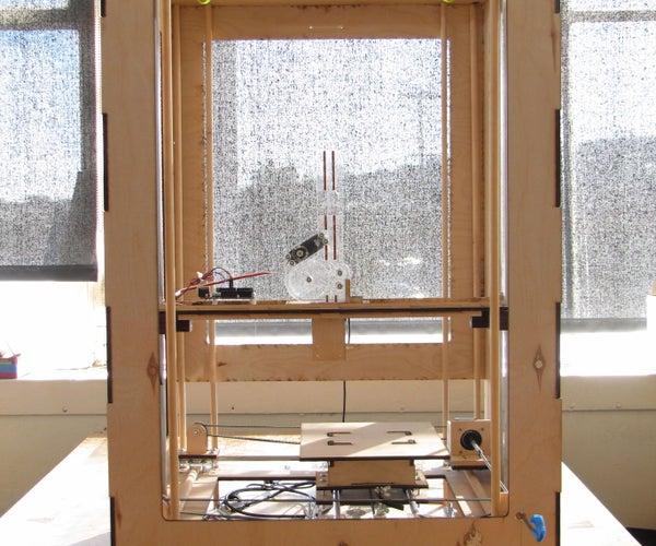 Webster: a Geometric Pattern Weaving Machine