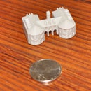 3D Printed Miniture Colonial Williamsburg Building: the Capitol