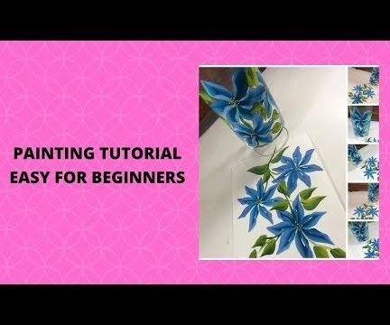 PAINTING TUTORIAL EASY FOR BEGINNERS