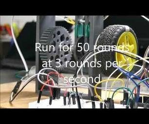 如何控制直流电机的旋转?