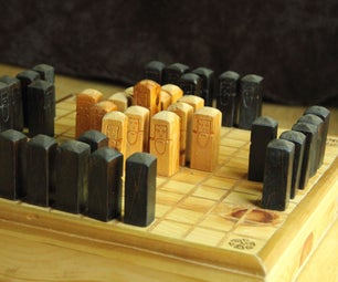 Design and Build Your Own Hnefatafl Game Board