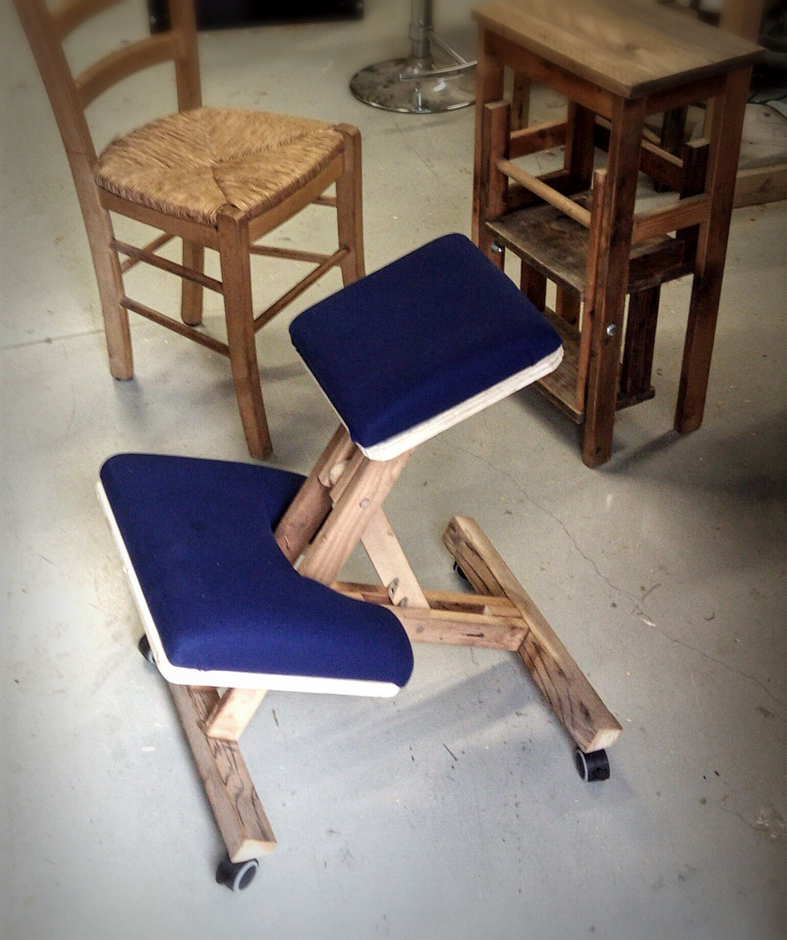 Wooden Kneeling Chair 14 Steps With Pictures Instructables