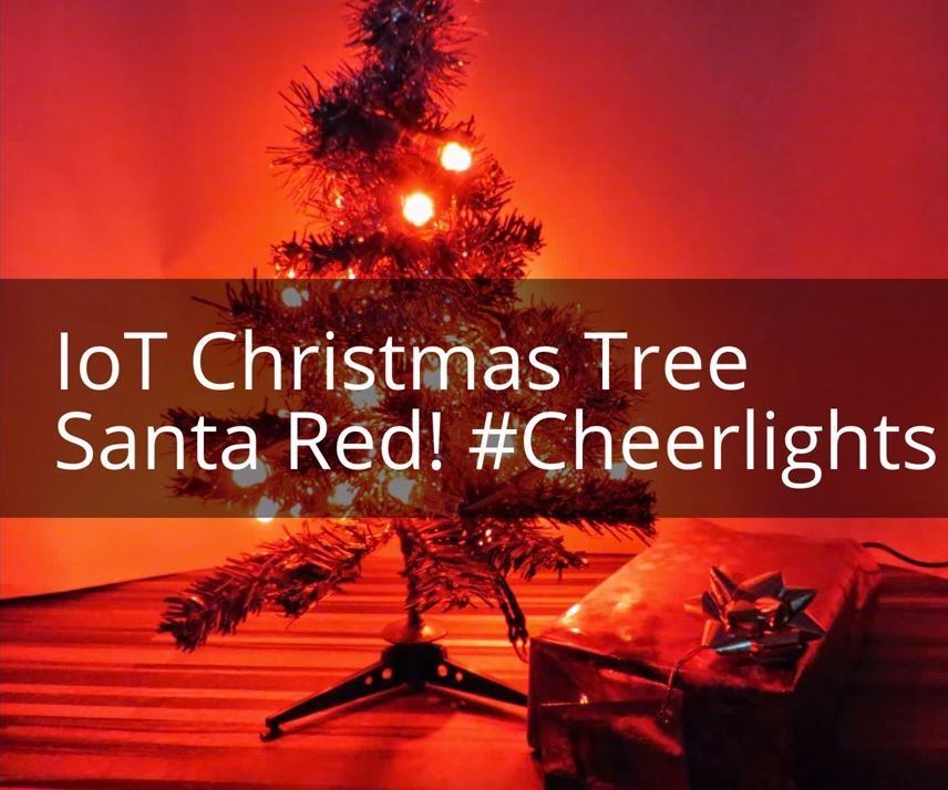 Internet of Things Christmas Tree