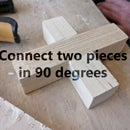 Invisible Glue Joints: Connect Two Pieces in 90 Degrees (werkplaatsidc)