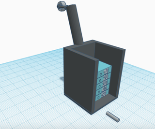 Weight Lifting Machine on Tinkercad