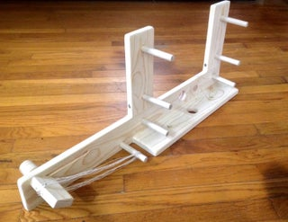 Discover And Build An Inkle Loom 10 Steps With Pictures Instructables
