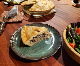 Tourtiere With a Twist