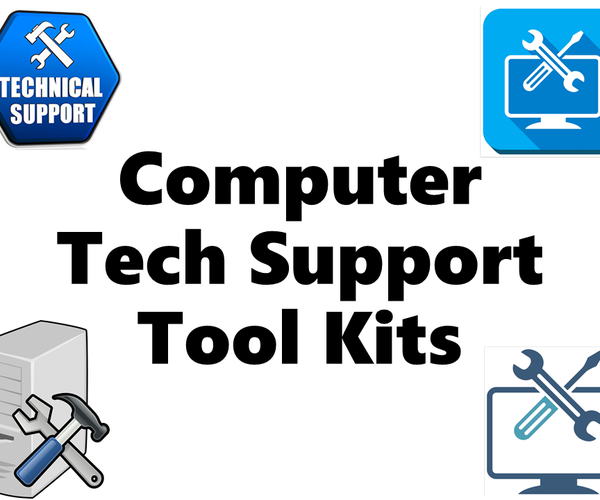 4 Different Tool Kits for Computer/Laptop Deployments