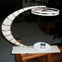 Rotating Convection Sculpture