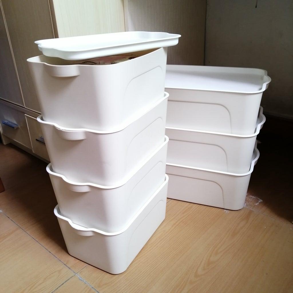Storage I. Opaque/Enclosed