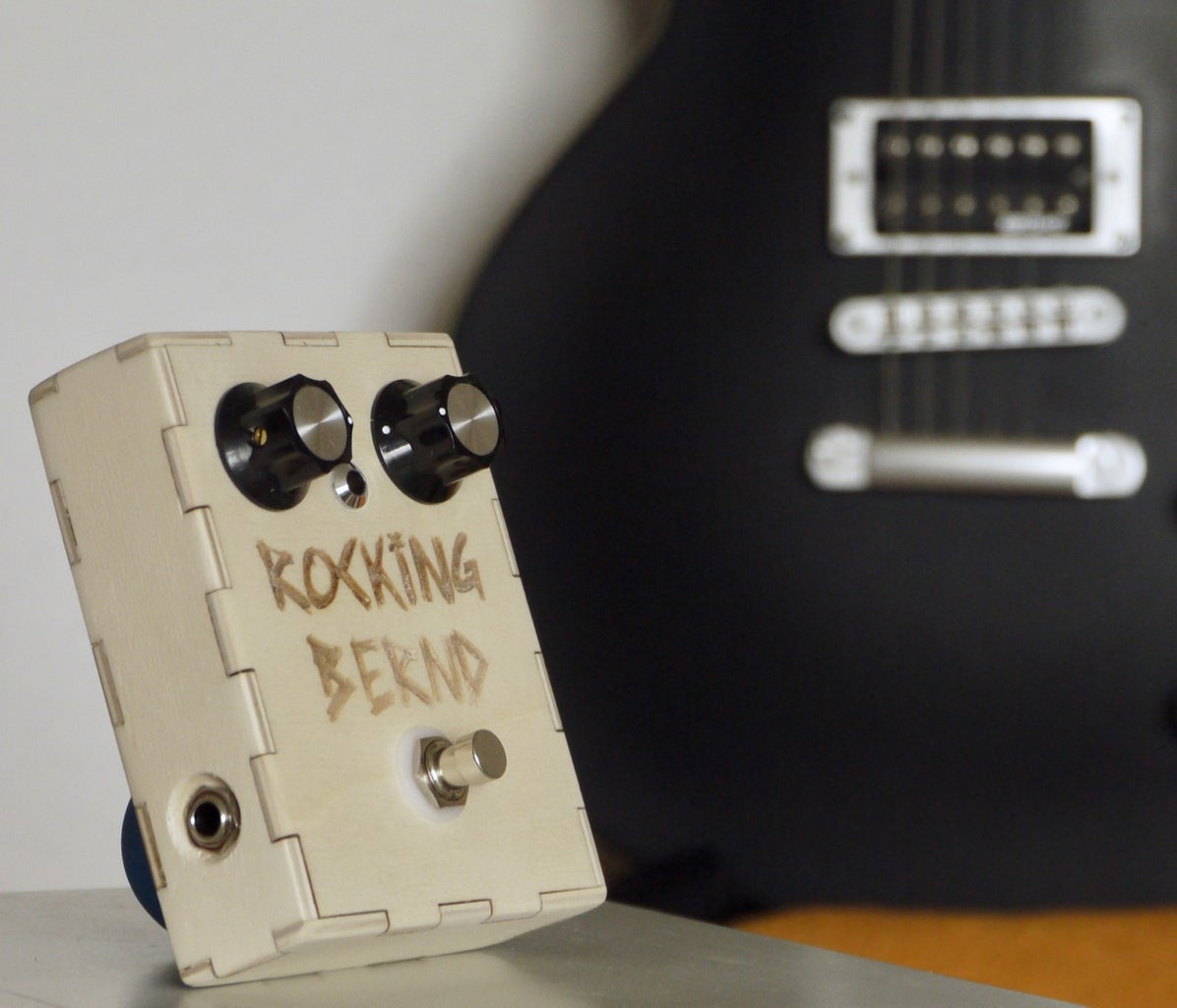 Wooden Guitar Pedal