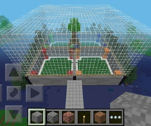 How to Make a Minecraft PE Quick Build Arena