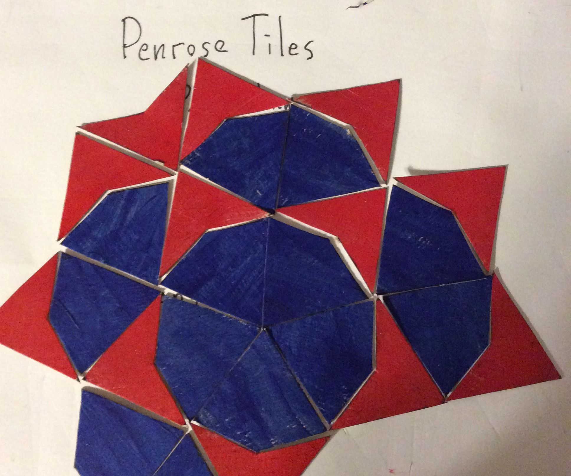 Cereal Box Penrose Tiles