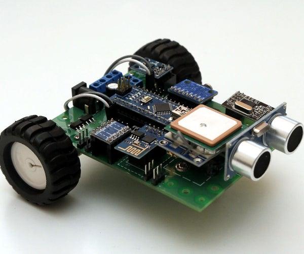 Arduino Robot That Avoids Human
