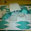 UnaUna hermit crab paper toy