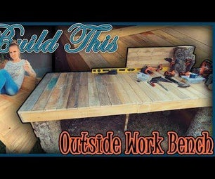 Workbench With Hidden Features