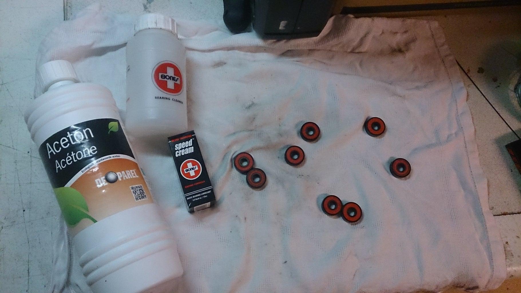 Cleaning Longboard Bearings