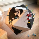Easy Paper Desk World Globe to Highlight All Your Travel Destinations!