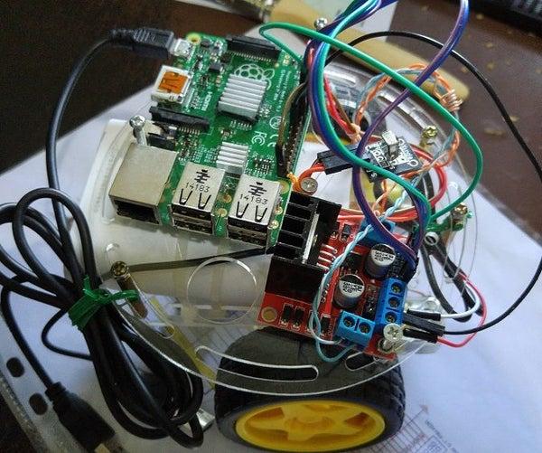 Raspberry PI Remote Controlled Car