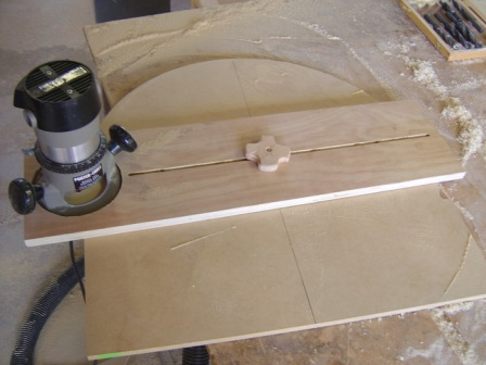How to Make a Router Circle Cutting Jig