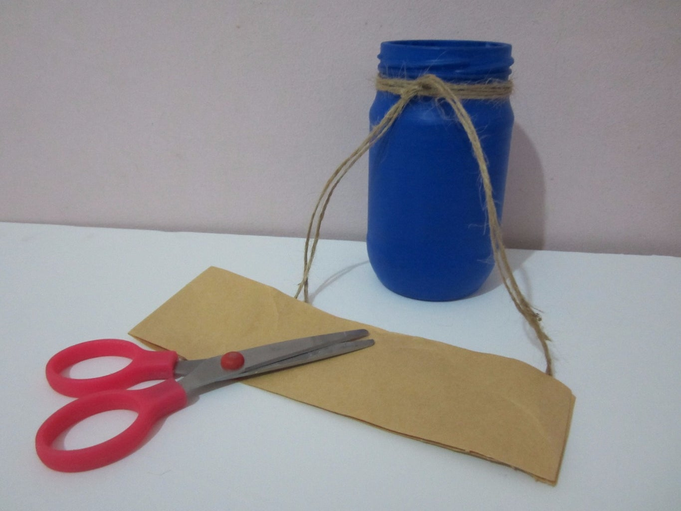 Cut a Card From the Shopping Bag
