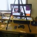 Overhead desktop tripod