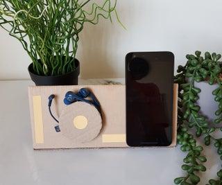 Phone Stand + Device Storage VERSION 2