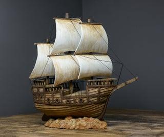 DIY纸板海盗船