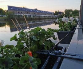 使用家庭助理和埃斯姆斯的智能WiFi控制的灌溉系统