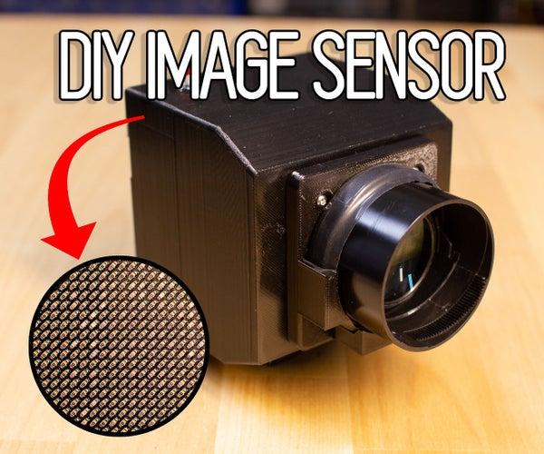 DIY Image Sensor and Digital Camera