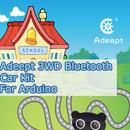 Adeept 3 WD Bluetooth Car Kit for Arduino