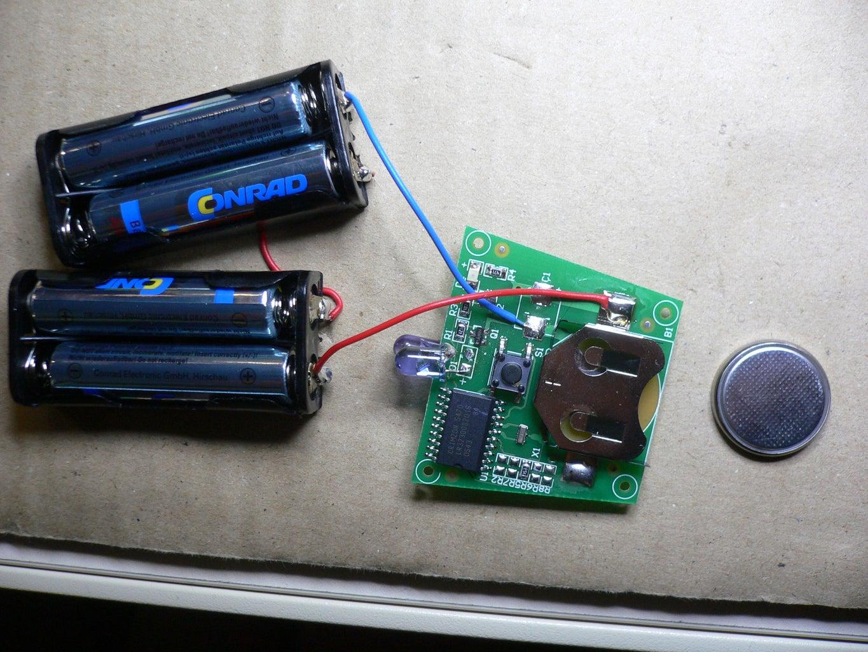 Attach Batteries