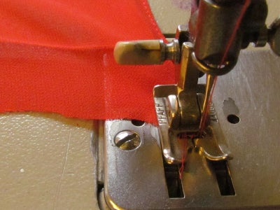 Continue Sewing the First Round