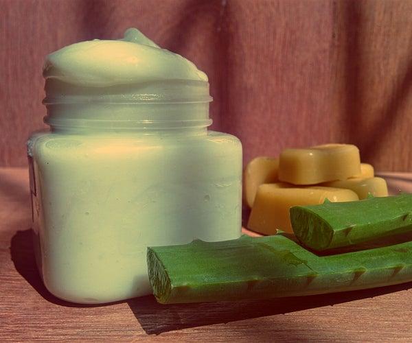 DIY All Natural Cooling & Healing Summer Body Lotion