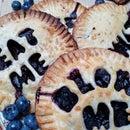 Vulgar Blueberry Hand Pies