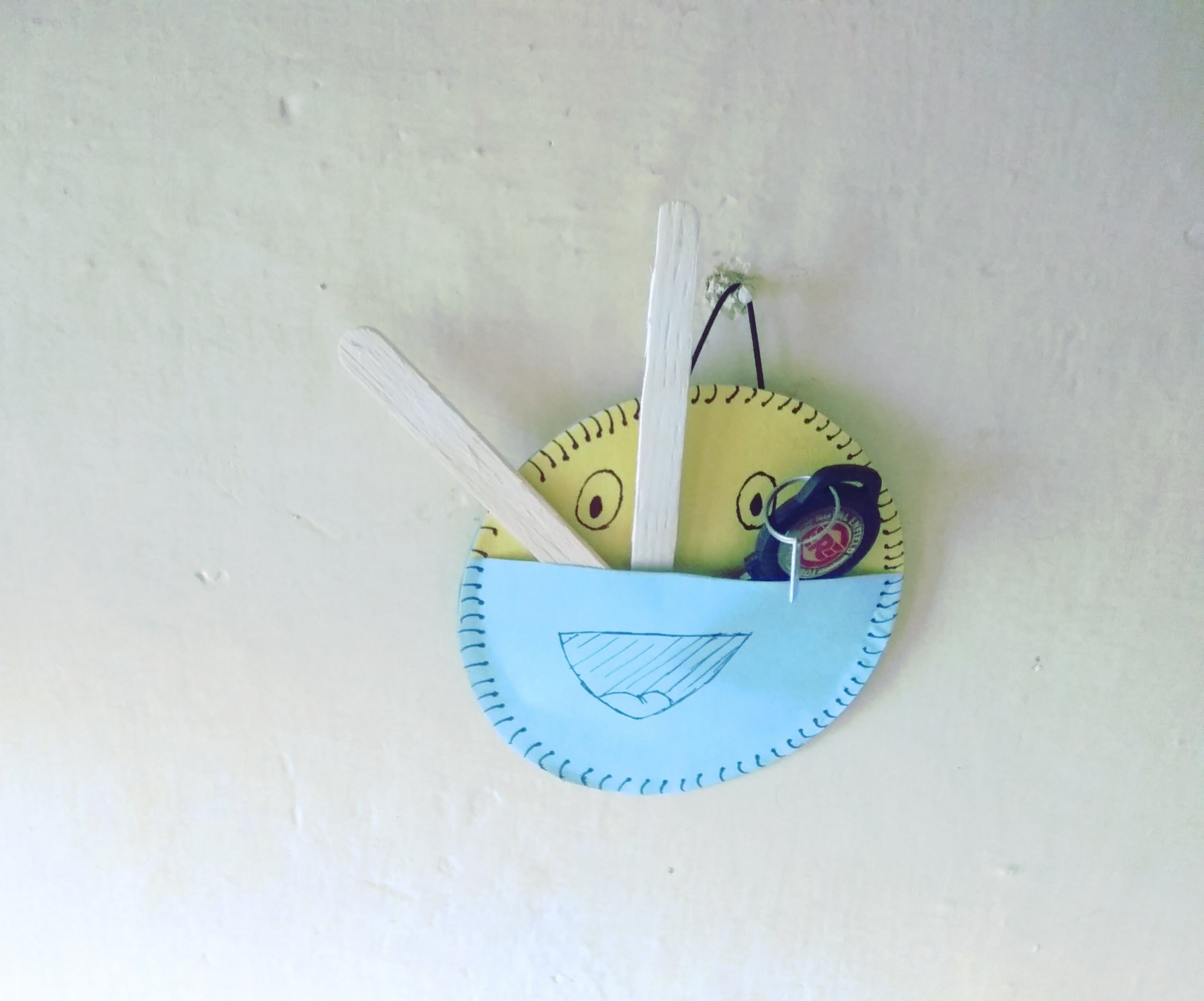 Utility Pouch Using Old CD