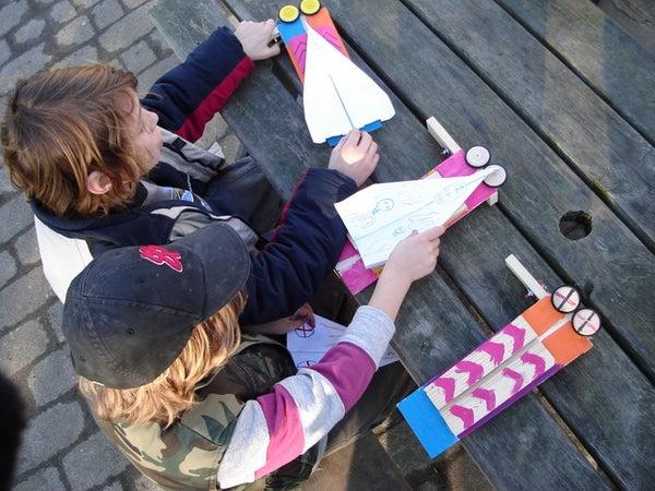 Super Fast Paper Plane Launcher
